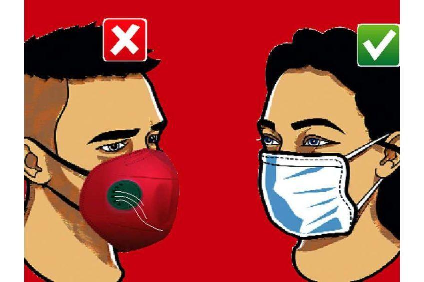 چرا برای جلوگیری از ویروس کرونا نباید از ماسک فیلتردار استفاده کنیم؟