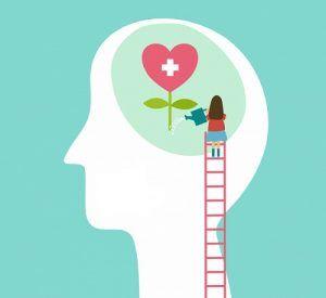 دختری-که-مشغول-آبیاری-گلی-است-که-تمثیلی-از-مغز-است